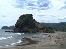 Free Piha Beach Royalty Free Stock Photography - 7868807