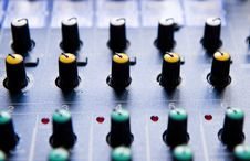 Free Sound Mixing Console Stock Images - 7869144