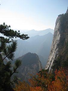 Free Huashan Royalty Free Stock Photography - 7869447