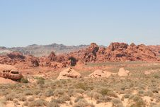 Free Valley Of Fire, Nevada Royalty Free Stock Image - 7869546