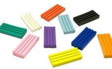 Free Plasticine Bricks Stock Photo - 7869670