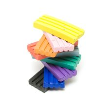 Free Plasticine Bricks Royalty Free Stock Image - 7869676
