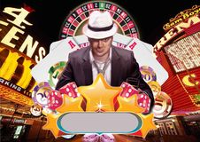 Casino King Stock Photo