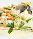 Free Trout Fillet With Vegetable Stock Photo - 7871590