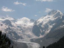 Free Mountain Panorama Royalty Free Stock Image - 7870276