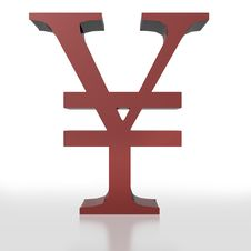 Free Yen Symbol Stock Image - 7870551
