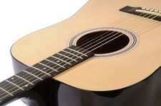 Free Part Of Acoustic Guitar Royalty Free Stock Photography - 7870957