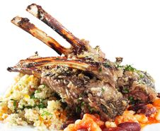 Free Rack Of Lamb Royalty Free Stock Photos - 7871358
