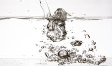 Free Water Bubbles Royalty Free Stock Photo - 7871415
