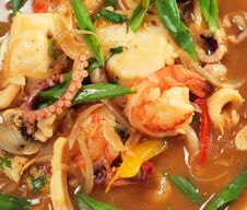 Free Spicy Thai Seafood Soup Royalty Free Stock Photos - 7871468