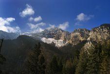 Free Mountain Range Royalty Free Stock Images - 7871609