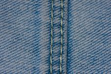 Free Macro Blue Jeans Stock Images - 7871634