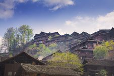 Free Chinese Village Stock Photography - 7871722