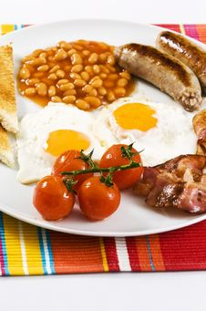 Free English Breakfast Royalty Free Stock Photos - 7872058