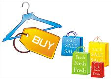 Free Shopping Bags Royalty Free Stock Photo - 7872345