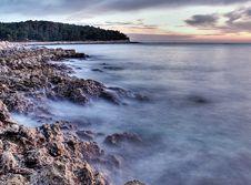 Adriatic Coastline Stock Photos