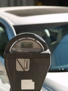 Free Expired Parking Meter Stock Photography - 7872682