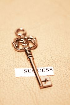 Free Key For Success Royalty Free Stock Photos - 7873058
