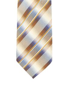 Free Striped Tie Isolated On White Background Stock Photography - 7873652
