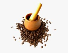 Free Mortar For Crushing Coffee. Stock Photos - 7873713