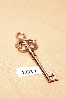 Free Key To Love Royalty Free Stock Photo - 7873725