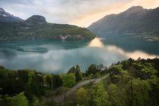 Free Swiss Lake View Royalty Free Stock Images - 7873909