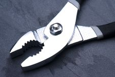 Free Open Pliers Diagonal Left Stock Photography - 7874212
