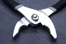 Free Open Pliers Pointing Down Royalty Free Stock Photography - 7874237