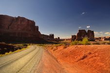 Free Arches National Park Stock Image - 7874881