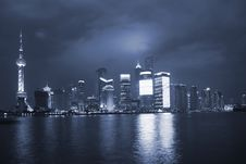 Free Night View Of City Royalty Free Stock Photography - 7875267