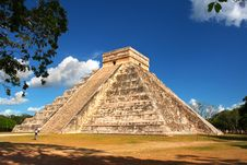 Free Kukulkan S Pyramid - El Castillo Royalty Free Stock Photography - 7876547