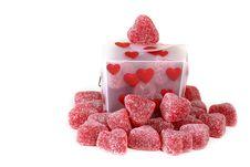 Hearts Galore Stock Photo