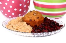 Free Muffins & Ingredients Royalty Free Stock Photos - 7877148