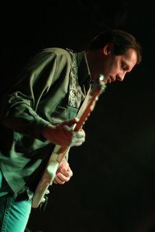 Free Guitarist Royalty Free Stock Image - 7877316
