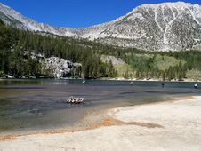 Free Lake In The Sierra Nevada Mountains Royalty Free Stock Photo - 7877495