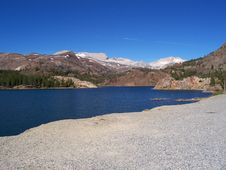 Free High Sierra Nevada Mountain Lake Royalty Free Stock Photos - 7877498