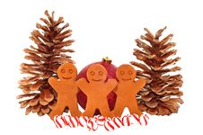 Free Gingerbread Men Decoration Stock Photo - 7877560