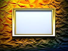 Free 3d Frame Royalty Free Stock Images - 7878739