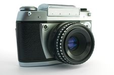 Free Old Photocamera Stock Photography - 7879202