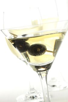 Free White Wine Glass Royalty Free Stock Photography - 7879237