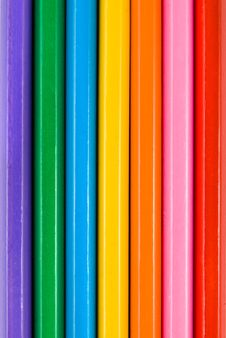 Free Backround From Color Pencils Stock Photos - 7879953
