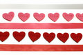 Free Hearts And Colours Ribbons Royalty Free Stock Photography - 7889707