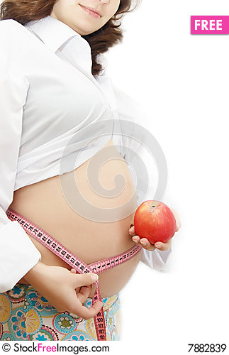 Free Healthy Food In Pregnancy Royalty Free Stock Images - 7882839