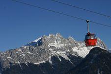 Ski Gondola Royalty Free Stock Image