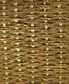 Sea Grass Weave Royalty Free Stock Photography