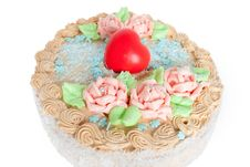 Free Festive Cream Cake Royalty Free Stock Photo - 7882225