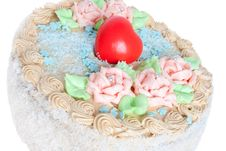 Free Festive Cream Cake Stock Photography - 7882242