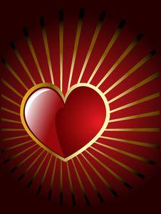Free Vector Valentine S Hearts Royalty Free Stock Photos - 7882558