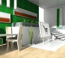 Free Modern Loft Royalty Free Stock Photography - 7882777