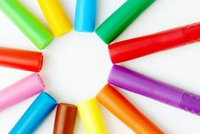 Colors Background Royalty Free Stock Photo